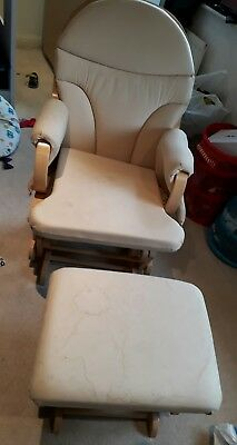 Nursery Rocking Chair complete with Stool