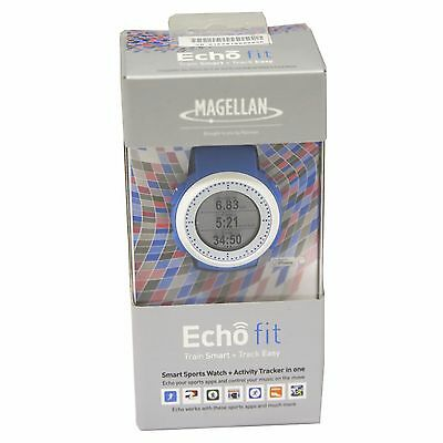 Magellan TW0201SGXAU Echo fit Smart Sports Watch + Activity Tracker in One BLUE