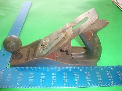 Vtg MILLERS FALLS USA No. 9  Wood Plane 2 inches