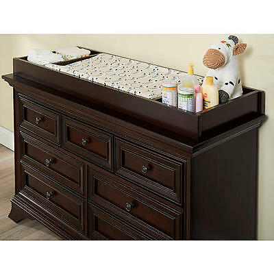 Dresser for baby-7 Drawer Changing Table Topper