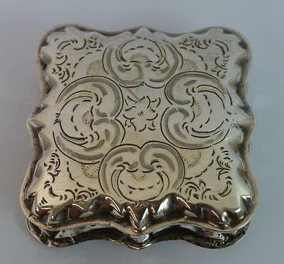 Beautiful Solid Silver Box or Case