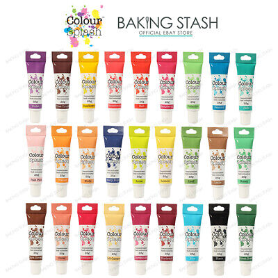 Colour Splash Concentrated Food Colouring Gel - All Colours - 25g