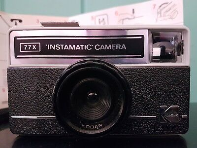 Kodak 77x Instamatic Vintage Retro Film Camera - Never been used