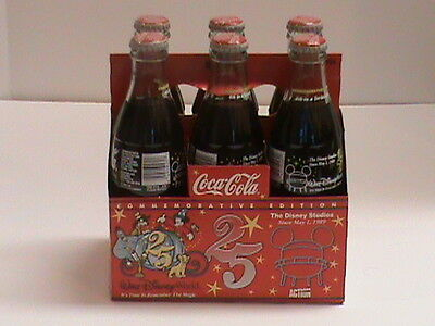 Coca Cola Commemorative Edition Walt Disney World 25th Anniversary 4 of 4 Series