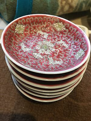 Chinese antique sauce bowl - set of 7