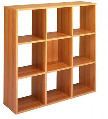 Library with 9 boxes Eco Cm. 104,1X29,2X103,9H Furnishing Accessories