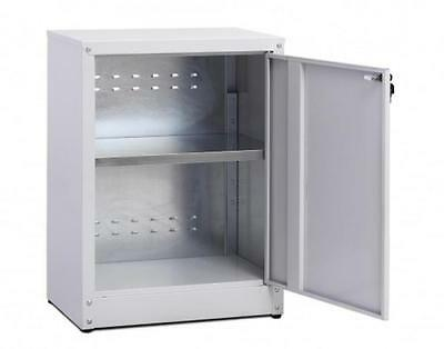 Cabinet coated galvanized with shelf low size For 1 Hinged Door Cm. 45X50X80H