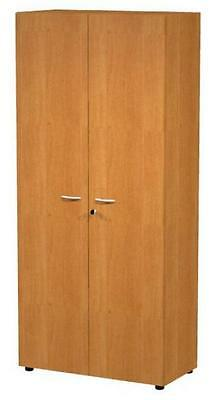 Library cabinet high size Eco lock melamine Cm. 90X45,8X200H Office Forniture