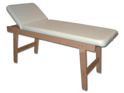 Bed Physiotherapy With Structure Beech Wood Backrest Adjustable Cm. 190X75X70H