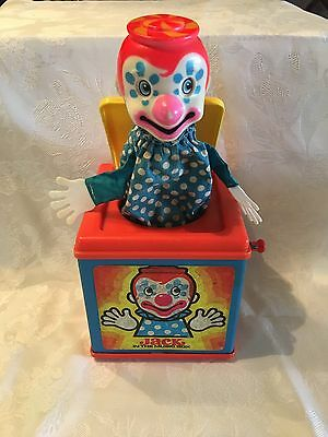 Vintage 1971 Mattel Jack In The Music Box - Made in USA