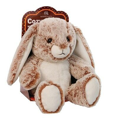 Aroma Home Cozy Hottie Soft Lavender Fragranced Microwavable Brown Bunny Toy
