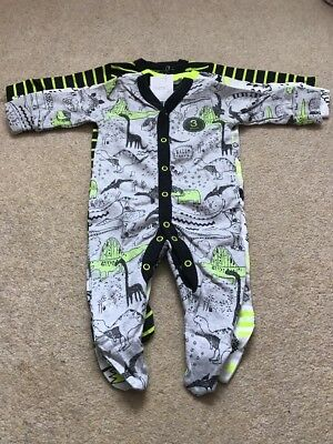 Next Baby Boys Sleepsuits 3-6 Months BNWT - Next Baby Babygrows Outfit Newborn