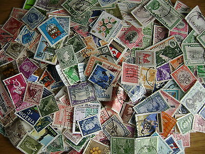 British Empire and Commonwealth Stamp Mixture - 25 grams - off-paper - Free Post