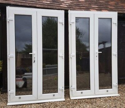 upvc double glazed french doors patio diy building windows