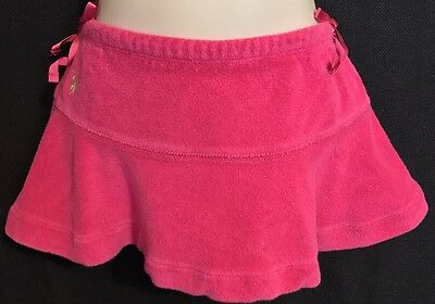 Ralph Lauren Toddler Girl's Terry Cloth Skort With Ribbons 18 Months