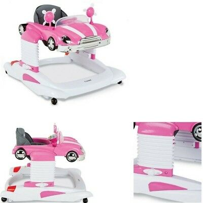 Infant Baby Girl Activity Walker Jumper Walk Stand Activity Entertainer Seat Toy