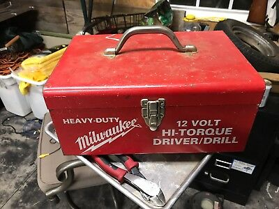 Milwaukee Tool Case (only) for Drill/Driver  All Metal Construction