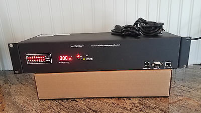 Synaccess NetBooter NP-1601D(T) Network Power + Temp Monitor AC Current