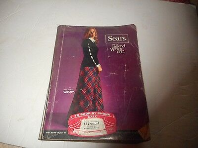 Vintage Catalog Sears Fall and winter 1972