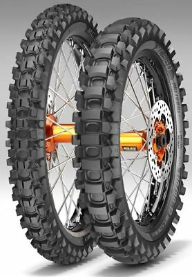 PAIR METZELER MC360 MID HARD 80/100-21M/C 51M & 110/100-18M/C 64MMST Road Legal