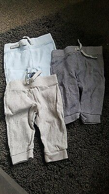 baby boy joggers 0-3