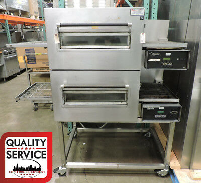 Lincoln Impinger 1116 Commercial Gas Double Conveyor Pizza Oven