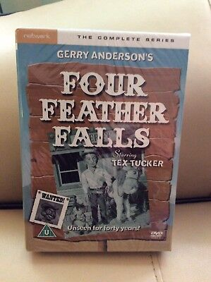 Gerry Anderson's Four Feather Falls - The Complete Series (DVD, 2008, 3-Disc Se…