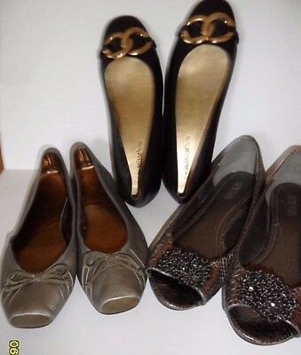 Lot of 3 Womens Flat (size 8.5) Matisse, Kenneth Cole & Jjessica Simpson