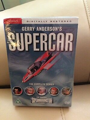 "DVD Boxed Set Gerry Anderson's ""Supercar"" Complete Series"