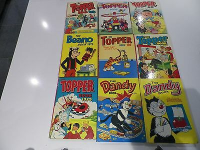 Collection of 1960's UK Comic Annuals - Job Lot of 20