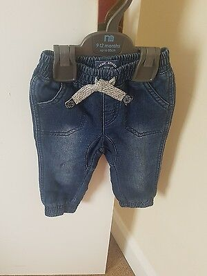 mothercare 9-12 months boys jeans BNWOT