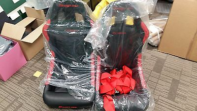 Two Snap-on Cobra Race Seats