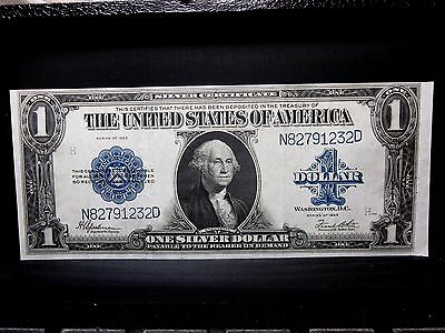 1923 $1 Silver Certificate ✪ Ch-Xf Extra Fine ✪ L@@k Now Horse Blanket ◢Trusted◣