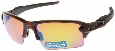 Oakley Flak 2.0 XL Sunglasses OO9188-59 Rootbeer | Prizm Shallow Water Polarized