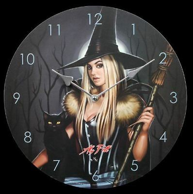 The Winter Witch By Aly Fell Fantasy Clock