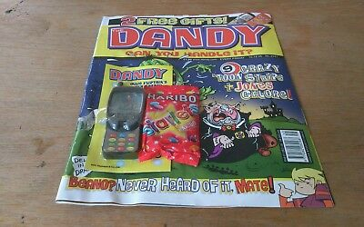 Dandy Comic 10/12/05, With Free Gifts