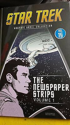 Star Trek, =Graphic Novel Collection, = Vol -15, = Newspapers  Strips