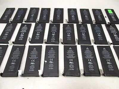 Lot Of 65 Apple Iphone 4 Oem Original Battery For Parts Only Fast Shipping