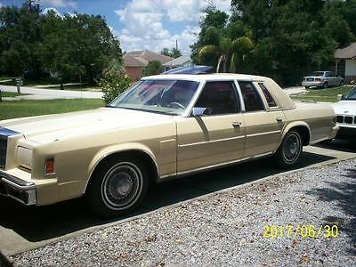 1979 Chrysler New Yorker 5th Avenue 1979 Chrysler New Yorker 5th Avenue Sedan 360 Engine,118,074 Original Miles