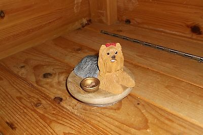 Yorkshire Terrier Candle Jar Topper