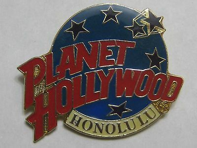 Planet Hollywood Honolulu Souvenir Lapel Pin