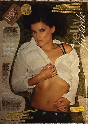 2 german clipping NELLY FURTADO N. SHIRTLESS SINGER GIRL BOY BAND BOYS GROUP