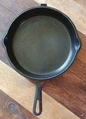 """Griswold Cast Iron Pan Skillet Erie Pa NO 80 1103 A Hinged Lid for 1102 B #8 10"""""""