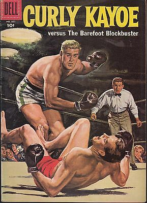 Four-Color..#871 1958 Dell -Curly Kayoe   Sports/ Boxing ...vf
