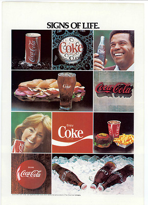 Coca Cola Advertisement - Vintage 1978 Coke Bottle Can National Geographic Print