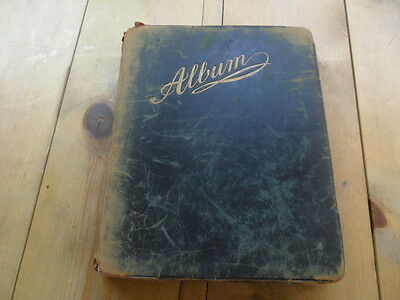 Old Album Of Poems And Sketches Dating Back From 1891 - 1916