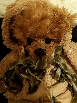 "Suus 2004 Mick Bears by Marjolein Vos 12"" Great with Himstedt doll...has tags"