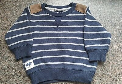 Next baby boys jumper size 3-6 month's  (A51)