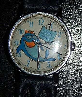 1973 Star-Kist Time for Tuna: 'Sorry Charlie' Wind-Up Watch