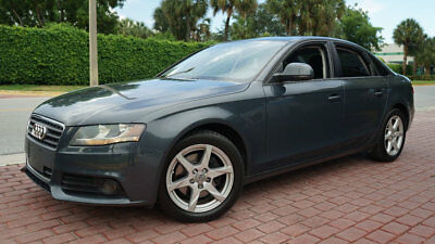 2009 Audi A4 SEDAN 2.0T QUATTRO ONLY 66,020 MILES CLEAN CARFAX LOW RESERVE FLORIDA CAR ALWAYS SERVICED LIKE NEW WILL SELL QUICK